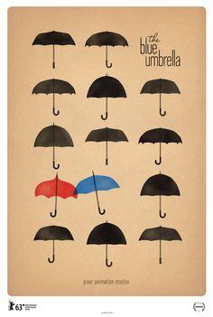 El paraguas azul de Pixar
