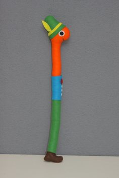 Lowly Worm toy / stuffed animal / decoration by PuppetsandHugs, €23.00