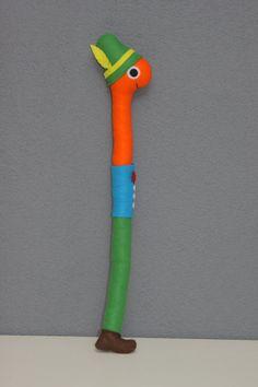 Humble jouet ver / animal en peluche / par PuppetsandHugs sur Etsy, €19.00