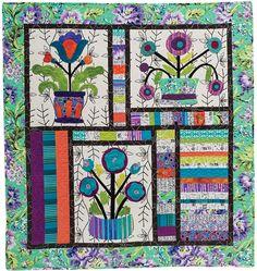 vintage gone modern quilt at Piece o' Cake Designs