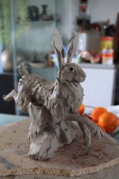 running hare clay | by Joe lawrence art work
