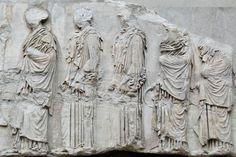 Procesión de las Panatenas- Museo Británico