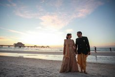A Pretty Nri Wedding With A Long Distance Love Story - Witty Vows Pre Wedding Shoot Ideas, Long Distance Love, Red Lehenga, Clearwater Beach, Tears Of Joy, Bridal Looks, Vows, Photo Booth, Love Story