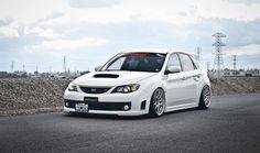 Subaru Impreza WRX STi (GRB) with Work Emotion CR Kai wheels