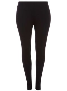 Womens DP Curve Plus Size Black High waisted Leggings- Black
