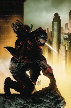 Red Hood Comic, Red Hood Dc, Batman Red Hood, Comic Book Covers, Comic Books Art, Comic Art, Red Hood Jason Todd, Batman Art, Gotham Batman