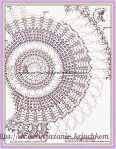 Delicadezas en crochet Gabriela: Bolero circular