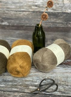 Biches & Bûches Le Gros Silk & Mohair offers something rather special, the finest blend of 28% silk and 72% kid mohair in a DK yarn that is as light as air. Knitting Projects, Crochet Projects, Order Up, Project Yourself, Pattern Books, Knitting Yarn, Tangled, Yarns, Kid