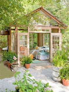 They call it an Afternoon Nap House. I see it as a reading nook