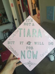 College Graduation Cap Decoration Princess Easy