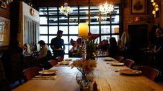 Fabulous vibe for lunch at Antique garage