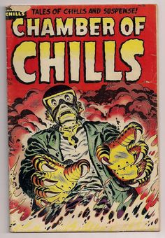 Horror Comics | HORROR ILLUSTRATED: 1950's Horror Comic Book Covers