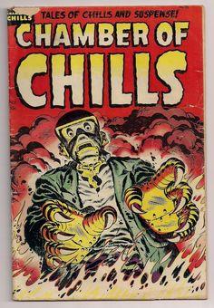 Horror Comics   HORROR ILLUSTRATED: 1950's Horror Comic Book Covers