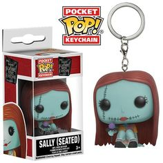 Pocket Pop! Keychains - NBX - Sally (Seated)