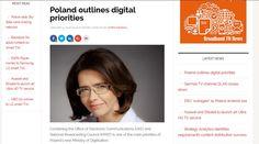Moja sesja z Anną Streżyńską, minister cyfryzacji RP, w portalu Broadband TVNews, do tekstu Chrisa Dziadula.  Więcej: http://pawelkrzywicki.com/