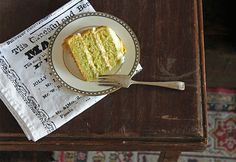 Lemon and Cucumber Cake with Gin Icing Recipe | Yummly