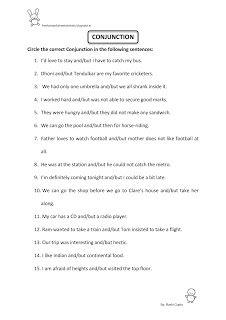 Free Fun Worksheets For Kids: Free Fun Printable English Worksheet for Class II ...