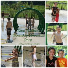 New Buffalo, Michigan splash park...lots of fun!