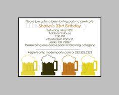 Printable beer tasting party invitation 1520 via etsy diy printable beer tasting party invitation by modernparty on etsy 1000 stopboris Gallery