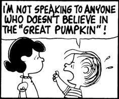 Image result for the great pumpkin is coming
