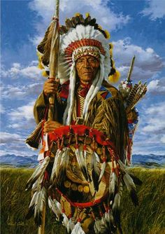 Native Americans Indians Lance and Shield ~ Paul Calle kK Native American Warrior, Native American Wisdom, Native American Beauty, American Indian Art, Native American History, American Indians, American Symbols, American Spirit, Native American Paintings