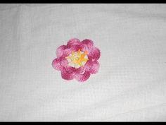 Flor em crochê facil - crochet flower - flor del ganchillo