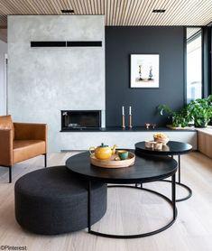 Home Living Room, Interior Design Living Room, Living Room Designs, Living Room Decor, Living Spaces, Bedroom Decor, Design Bedroom, Estilo Interior, Fireplace Design