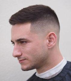 Buzz Cut Hairstyles, Mens Hairstyles Fade, Trendy Mens Haircuts, Men Hairstyle Short, Shot Hair Cuts, Shot Hair Styles, Hair And Beard Styles, Men New Hair Style, High Fade Haircut