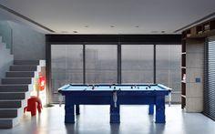 Mesa de sinuca é um dos sonhos do homem solteiro para um apartamento. Foto: Divulgação