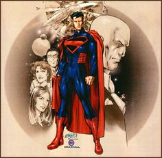 Versions Of Superman | Welcome to the weekend - I hope you survive the experience !