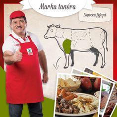 Vas Zsolt egyik kedvence a lapocka, hiszen tokánynak, töltötthúsnak, de vadasnak és pörköltnek  is könnyen elkészíthető.