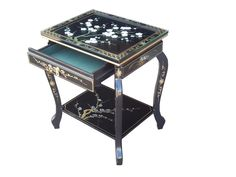 Chinese side table with drawer from Sensible Sheets Shop Furniture Direct, Table, Oriental Furniture, Furniture, Side Table With Drawer, Chinese Furniture, Home Decor, Paint Furniture, Traditional Design