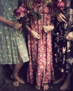 laura ashley. Floral bridesmaid dresses would be awesome.
