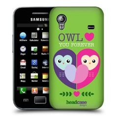 Amazon.com: Head Case Owl Love You Lovey Dovey Mishmash Case For Samsung Galaxy Ace S5830: Cell Phones & Accessories