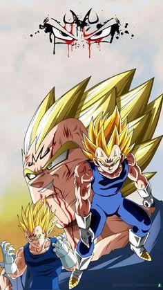 Dragon Ball Z, Dragon Z, Kid Buu, Z Tattoo, Vegeta And Bulma, Dbz Characters, Beautiful Dragon, Susanoo, Animes Wallpapers