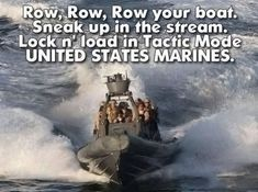 What The Marines Sing, Probably - Military humorYou can find Military humor and more on our website.What The Marines Sing, Probably - Military humor Once A Marine, Marine Mom, Us Marine Corps, Marine Corps Humor, Marine Corps Quotes, Marine Recon, Funny Shit, Funny Jokes, Hilarious