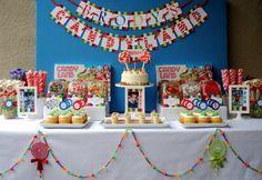 Mesa dulce fiesta
