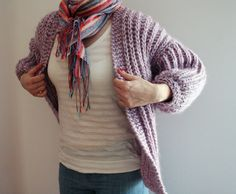 avender jacket by Anna & Heidi Pickles Published in Pickles Craft Knitting Category Coat / Jacket Published January 2009 Yarns suggested Dale of Norway/Dalegarn Hubro Garnstudio DROPS Vivaldi Yarn weight Super Bulky (5-6 wpi) ? Needle size US 13 - 9.0 mm Sizes available M/L