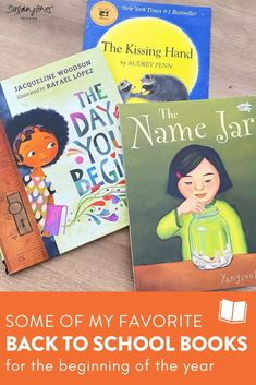 I love reading these 3 books at the beginning of the year! Head over to the blog to see why I like each one for back to school and you can even grab a free read aloud lesson for The Name Jar on the blog post!