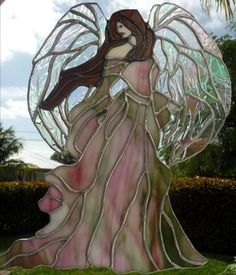 698 Best Stain Glass Angels Images Stained Glass Angel Leaded