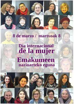 Con motivo de la celebración el 8 de marzo del Día Internacional de la Mujer, en la Biblioteca de Navarra hemos elaborado una guía de recursos (libros, películas, etc.) en los que la mujer es protagonista. Disfrutadlo.