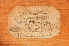 McCarthy Limerick  Dealers in military campaign furniture & antiques - Christopher Clarke Antiques