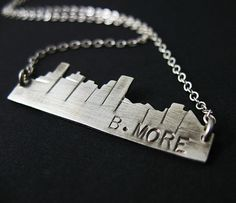 B.More Baltimore necklace