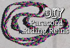 How To Make Paracord Riding Reins