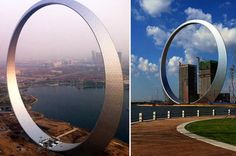 515-Foot Ring is China's Latest Piece of Bizarre Architecture