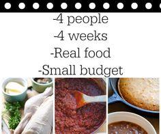 September frugal meal plan
