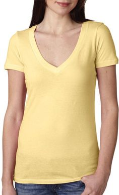 next level the deep v - banana cream (xl)