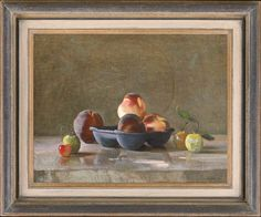 STEPHEN ROSE 1960 – Peaches with greengages and a cherry