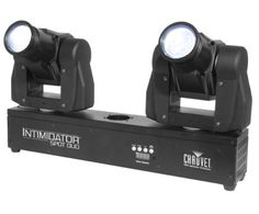 Chauvet Intimidator Spot Duo Stage Light, New Wow the crowd as two intense beams of light dance around the room on independently moving heads -- projecting bright colors and crazy effects mid-air.