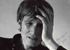 Bas Jan Ader - I'm too sad to tell you. Gelatin silver print, 10 x x cm). The artist also produced a video, film Contemporary Photography, Contemporary Art, Amazing Photography, Portrait Photography, Lifestyle Photography, Jasper Johns, Ader, Beach Portraits, Dutch Artists